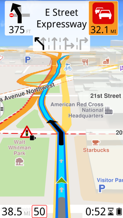 10 GALAXYS5 Navigating imperial us portrait1 400x711 - ROUTE 66 Navigate for Android