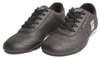 10 Sneaker Schuhe schwarz logo lila 1500x890 400x237 - Route 66 - Sneaker Shoes