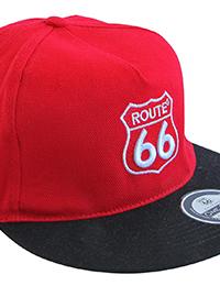 17 7 cap rot schwarz 200x260 - ROUTE 66 - Cap
