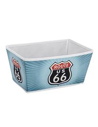 1 Storage basket Vintage Route 66 Size M 200x260 - Storage basket Vintage Route 66 Size M