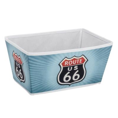 1 Storage basket Vintage Route 66 Size M 430x430 400x400 - Storage basket Vintage Route 66 Size M