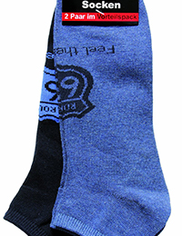 21 11 Damen und Herren Sneakersocken 2er Pack blau navy 200x260 - ROUTE 66 - Damen- und Herren Sneakersocken 2er Pack