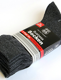 24 7 Business Socken 5er Pack anthrazit 200x260 - Route 66 - Business Socken 5er Pack