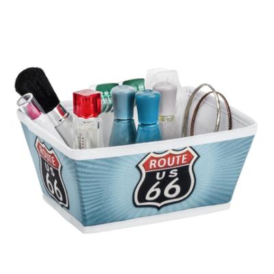 2 Storage basket Vintage Route 66 Size S 430x430 400x400 - Storage basket Vintage Route 66 Size S