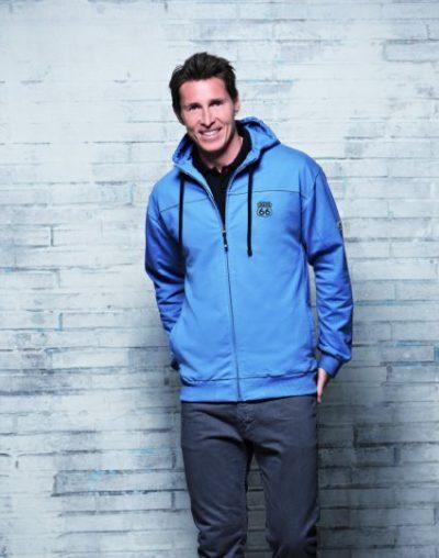 2 Sweatshirt Kapuze blue 425x540 400x508 - ROUTE 66 - Sweatshirt