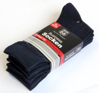 3 Business Socken 5er Pack navy 522x490 400x375 - Route 66 - Business Socken 5er Pack