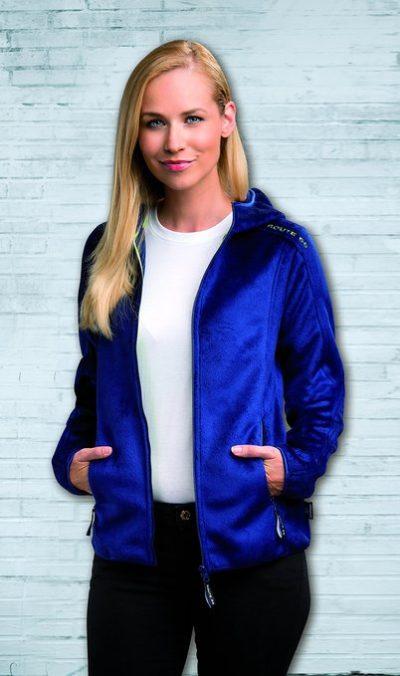 3 Damen Trekkingjacke blau 402x679 400x676 - ROUTE 66 - Ladies Trekking Jacket