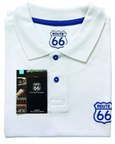 3 Herren Pique Polo Shirt weiss 425x531 400x500 - ROUTE 66 - Herren Pique Polo Shirt