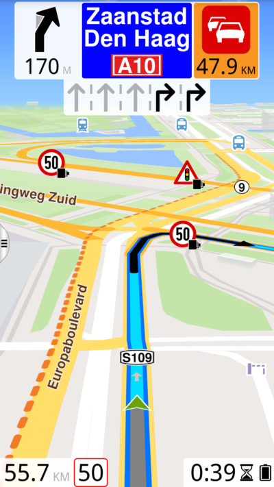 4 GALAXYS4 Navigating metric portrait 21 400x711 - ROUTE 66 Navigate for Android