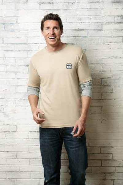 4 Langarm Shirt Doppel Lagig beige 453x679 400x600 - ROUTE 66 - Langarm Shirt Doppel Lagig