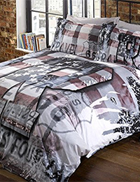 4 Route 66 Bedding Double Duvet Cover and Pillowcase Pennsylvania 200x260 - Route 66 Bedding - Double Duvet Cover and Pillowcase - Pennsylvania