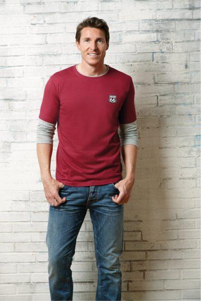 6 Langarm Shirt Doppel Lagig rot 1001x15001 400x599 - ROUTE 66 - Langarm Shirt Doppel Lagig