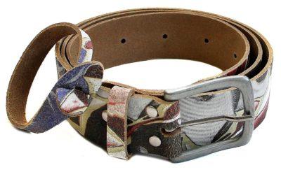 7 Ledergürtel mit Armband geblümt 1500x921 400x246 - Route 66 - Ledergürtel mit Armband