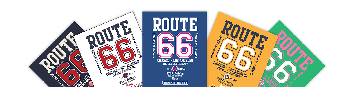 Route 66 posters