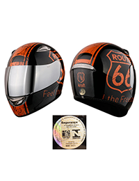 1_CAPACETE KRAFT FULL FACE ROTA66 BLACK BRILHO_200x260