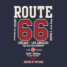 route 66 artwork