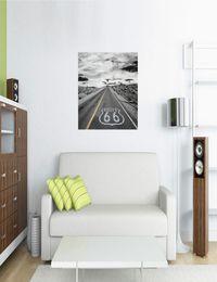 111 - Canvas 5-delig Route 66