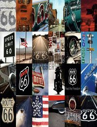 4 - Maxi Poster ROUTE 66 - mosaic