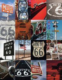 6 - Deco Block 40x40 Route 66 - mosaic II