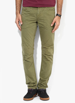 29 250x341 - Route 66 Olive Slim Fit Chinos