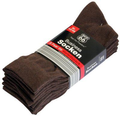 3 400x386 - Route 66 - Business Socken 5er Pack