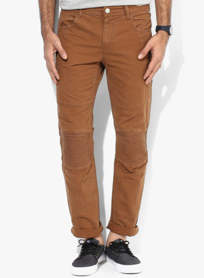 33 1 400x545 - Route 66 Brown Skinny Fit Chinos