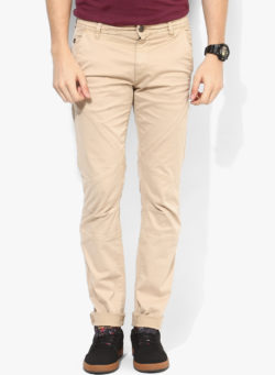 34 250x341 - Route 66 Beige Skinny Fit Chinos