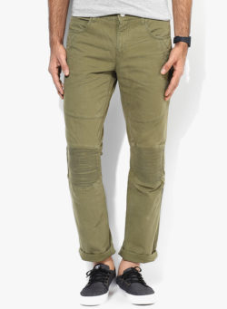 35 250x341 - Route 66 Olive Skinny Fit Chinos
