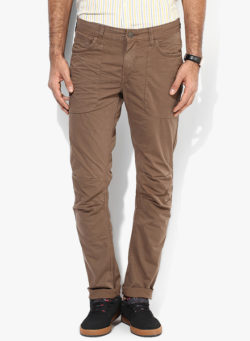 36 250x341 - Route 66 Brown Slim Fit Chinos