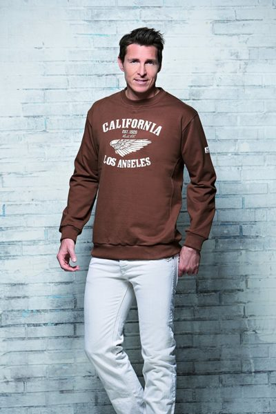 4 400x600 - ROUTE 66 - Collage Sweatshirt / Troyer