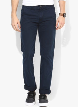 42 250x341 - Route 66 Navy Blue Slim Fit Chinos
