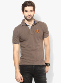 48 2 250x341 - Route 66 Olive Solid Polo T-Shirt