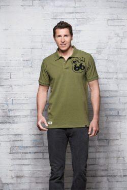 6 250x375 - ROUTE 66 - Herren Polo Shirt - Pique