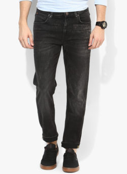 61 250x341 - Route 66 Black Washed Regular Fit Jeans