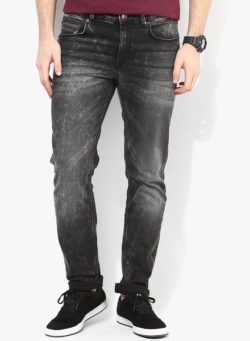 64 250x341 - Route 66 Black Washed Regular Fit Jeans