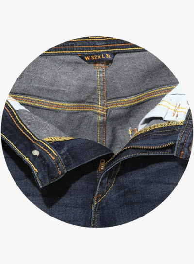 67 1 400x545 - Route 66 Blue Solid Slim Fit Jeans