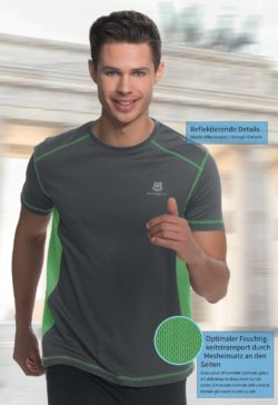 9 250x364 - Route 66 Sport Running Shirt Herren