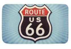 2 1 250x172 - Bathroom mat Vintage Route 66