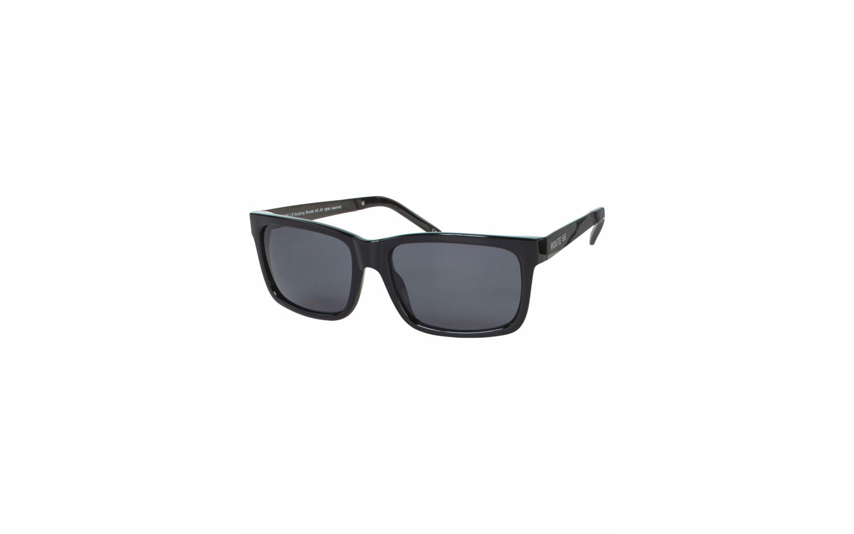 ROUTE 66 Feel the Freedom Eyewear Sonnenbrille, im coolen Design, schwarz, schwarz