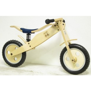 "cyc2 - 12"" Route 66 Wood Suspension Balance Bike"