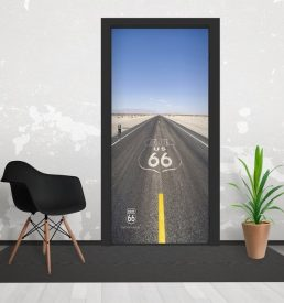 h2 258x275 - 1Wall Iconic Route66 USA Road Door Mural 3 Piece Door Mural 95cm x 210cm