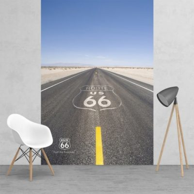 h4 400x400 - 1Wall Iconic Route 66 US Feature Wall Wallpaper Mural   158cm x 232cm