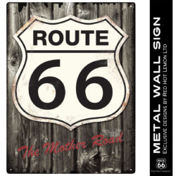 rhl7 250x250 - ROUTE 66 WOOD WALL SIGN