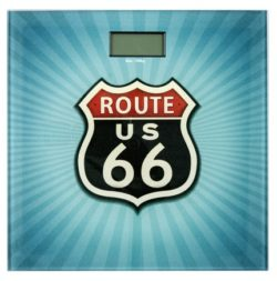 z 250x253 - Bathroom scale Vintage Route 66