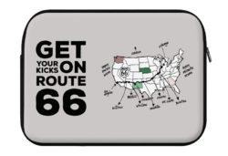 get your kicks on route 66 laptop eco sleeve 250x171 - Get Your Kicks on ROUTE 66 - Laptop Eco Sleeve