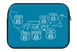 route 66 map laptop eco sleeve 250x171 - ROUTE 66 Map - Laptop Eco Sleeve