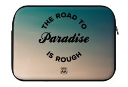 route 66 the road to paradise is rough laptop eco sleeve 250x171 - ROUTE 66 The Road to Paradise is Rough - Laptop Eco Sleeve