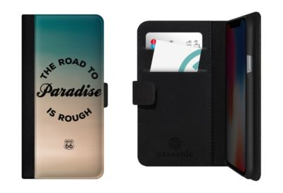 route 66 the road to paradise is rough smartphone flip case 400x274 - ROUTE 66 The Road to Paradise is Rough - Smartphone Flip Case